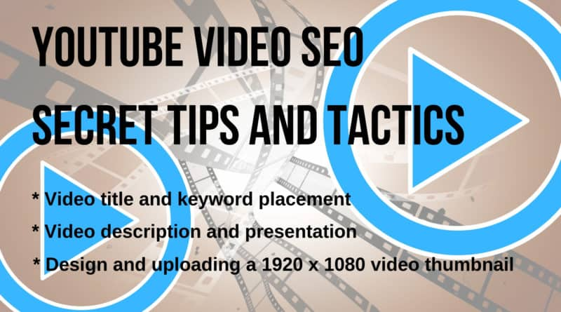 Marketing with Video Using Secret Keyword Tactics